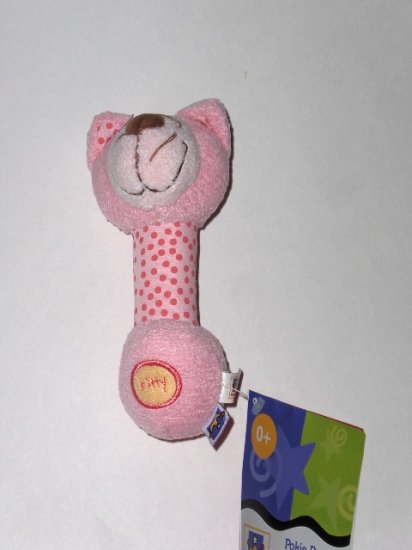 Manhattan baby Pokie Kitty baby rattle ages 0+