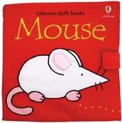 New Usborne cloth book MOUSE for babies and toddlers