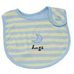 New Elegant Baby striped hugs bib baby boy gift