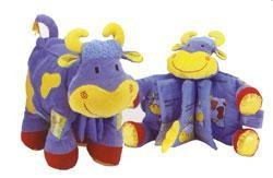 New Jelly Kitten Cowslip Book soft for baby toy