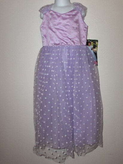 New Storybook Heirloom girls Lilac Damask Circle Dress size 6X