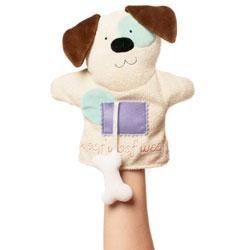 New Manhattan Toy Puppy Puppettos hand puppet