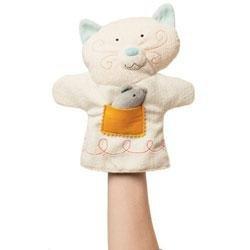 New Manhattan Toy Cat Puppettos hand puppet