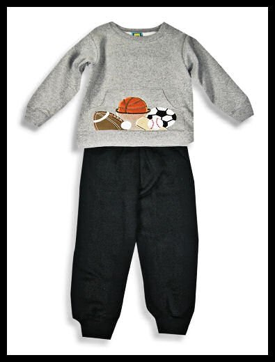 New Toddler boys Picture Me Sports top pants set size 3T