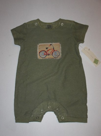 New Cozy Toes infant boys bicycle romper size 3 months/6 months