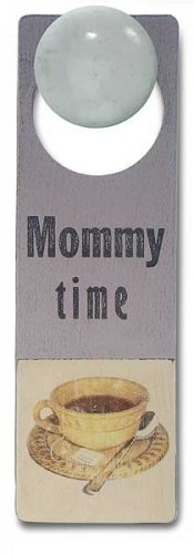 New Tree by Kerri Lee door knob sign lilac Mommy Time
