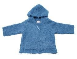 New Baby Jak of San Francisco Blue zip up sweater size 12-18  months