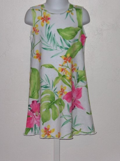 New Kid Rascal Tropical Orchid dress girls 3T
