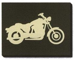 New Jeeto Motorcycle Screen Print 18 X 24 art