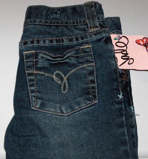 sale Girls Jade Jeans Low rise stretch boot leg Luke Wash size 5
