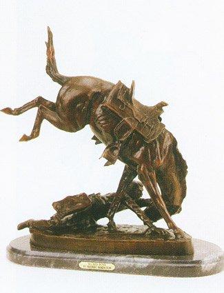 Wicked Pony by Frederic Remington