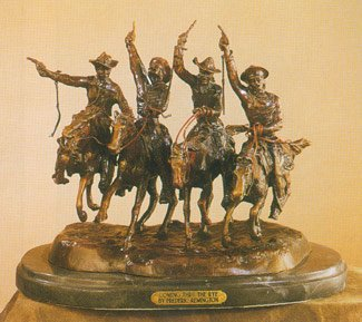 Coming Thru the Rye by Frederic Remington