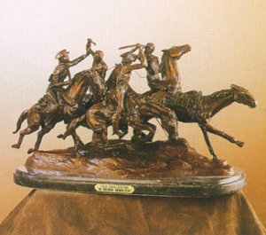 Old Dragoons by Frederic Remington