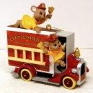 Hallmark Christmas Ornament Four Alarm Friends 2001 Fire Truck Matchbox QX8325
