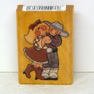 Comotion Rubber Stamp Dancing Partners1994 Texas Two Step