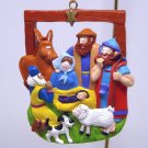 Christmas ornament Nativity JRL Bible scene