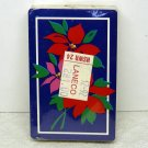 vintage Trump playing cards Christmas poinsettias sealed