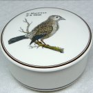 Vtg Villeroy and Boch Paradiso small candy box Le Moineau de la Chine bird sparrow porcelain 1985