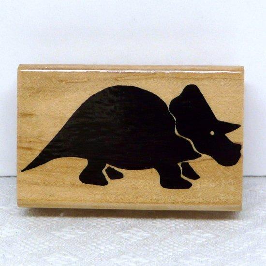 JRL Design Rubber Stamp Dinosaur B