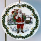 Spode Christmas ornament American Santa Claus Santas Around the World 7th and final in series