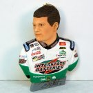 Bobby Labonte Nascar #18  Christmas ornament 2001 head and shoulders portrait