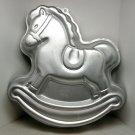 vintage Wilton Cake Pan Rocking Horse 2105 2388 1984
