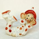 Vtg porcelain clown figurine big ears made in Japan