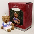 Hallmark Christmas ornament Granddughter 1998 box