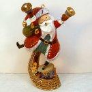 Hallmark ornament figurine Ringing in the Season A Santa Claus Christmas 2008
