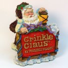 Crinkle Claus Display Figurine 965003 1996 Possible Dreams
