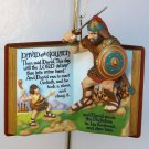 Hallmark Christmas Ornament David and Goliath 1st in Favorite Bible Story series 1999