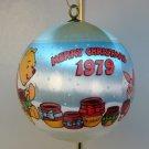 vintage Hallmark Merry Christmas Ornament 1979 Winnie the Pooh