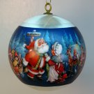 vintage Hallmark Christmas Ornament 1981 Santa's Coming