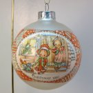 vtg Hallmark Betsey Clark Ornament 1981 Greatest Joy of Christmas Day glass ball number 9
