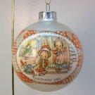 vtg Hallmark Betsey Clark Ornament 1981 Greatest Joy of Christmas Day glass ball number 9