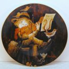 Vtg Ferrandiz Schmid plate Sweet Serenade 1981 porcelain limited edition 4th in series box COA
