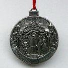 Taste of Home pewter Christmas ornament 1999 Victorian confections candy store