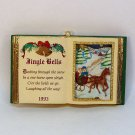 Carlton Cards Christmas Carols Ornament Jingle Bells1993 1st in Book of Carols 126005-7