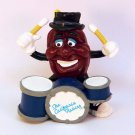 Vintage California Raisins figurine drummer 1988 Calrab Applause