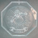 Lifesavers Christmas ornament 1991 clear acrylic elf Planters