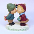 Hallmark Christmas ornament Our 1st Christmas Together 1994 QX5643 Mistletoe