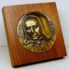 Saint Jeanne Jugan table or desk plaque wood Little Sisters of the Poor