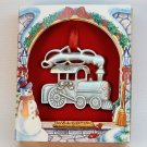 Lindsay Claire Designs LCD train pewter ornament steam engine box new