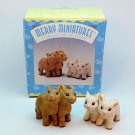 Hallmark figurines Noah's Friends Merry Miniatures Camels and Lambs 1997 QSM8572 Story Time box