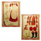 Merrimack Publishing Corp Santa and Mrs. Claus uncut paper dolls