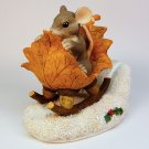 Charming Tails One Mouse Open Sleigh GCC exclusive 98/195 1997 special edition Christmas Fitz Floyd