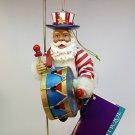 Clothtique Possible Dreams Patriotic Santa ornament Christmas 715076 2000