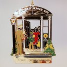 vtg ornament Crystal Cathedral Ministries Hour of Power gold tone Home for Christmas