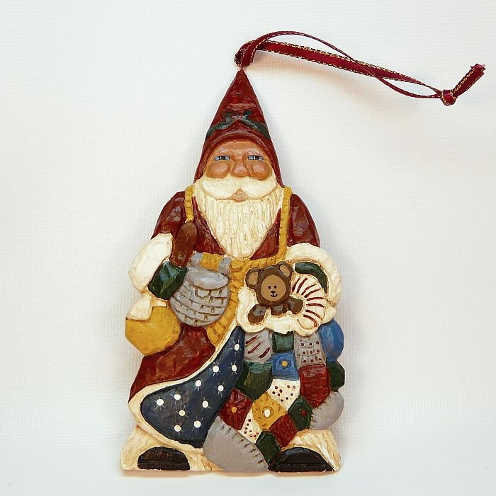 Limited Edition Luxury Christmas Ornaments: Paul Bolinger Santa Ltd Edition Ornament Christmas Norm