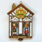 vtg Hallmark Weather House Christmas Ornament 1977 QX1915 Twirl About